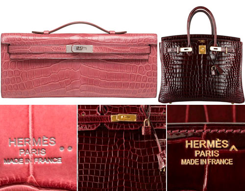 chinese replica handbags - Hermes Etoupe Clemence Birkin 30cm Gold Hardware